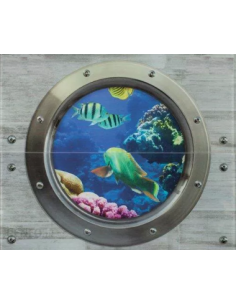 Dekor rybki 2x25x60 GAT I